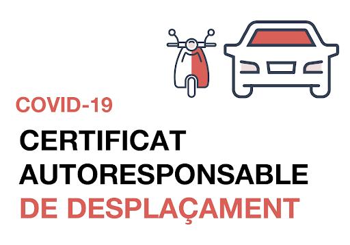 Certificat Autorresponsabilitat COVID-19