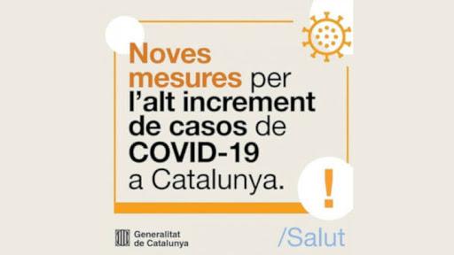 Noves restriccions COVID-19